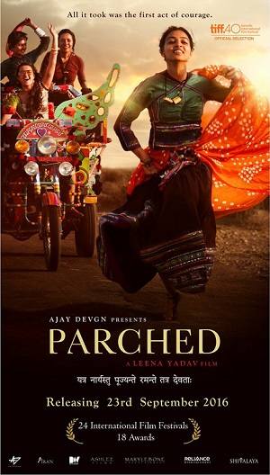 Parched film poster